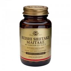 Reishi Shiitake Maitake Mushroom Extract (50 capsule), Solgar