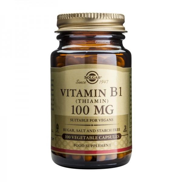 Vitamin B1 100mg (100 capsule), Solgar