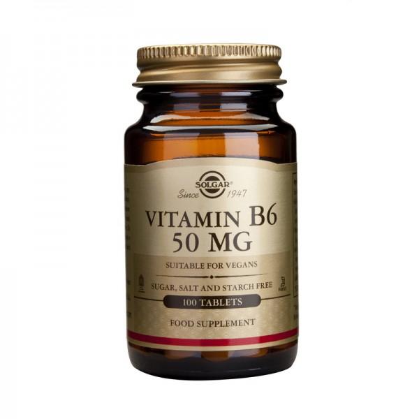 Vitamin B-6 50mg (100 tablete)