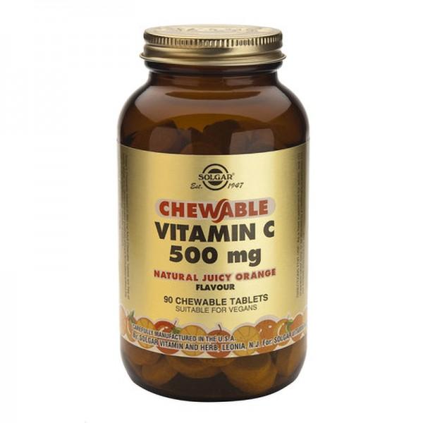 Vitamin C 500mg (90 tablete masticabile)