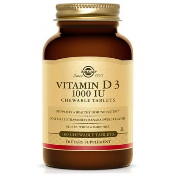 Vitamin D3 1000ui (90 tablete)