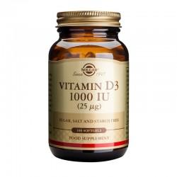 Vitamin D3 1000IU (100 capsule), Solgar