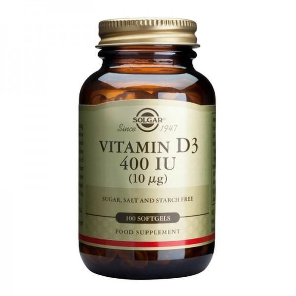 Vitamin D3 400 IU (100 softgels)