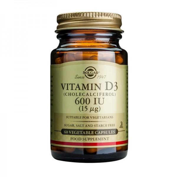 Vitamin D3 600 IU veg (60 capsule)
