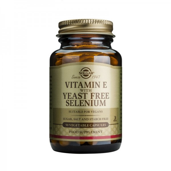 Vitamin E + Selenium (50 capsule), Solgar