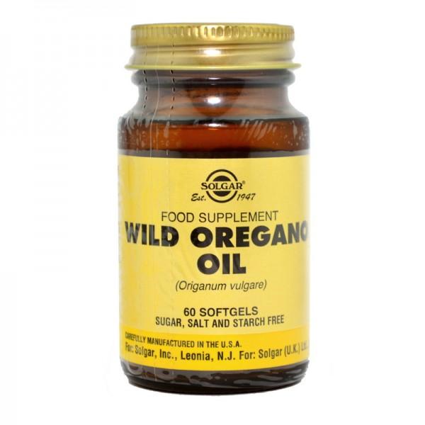 Wild Oregano Oil (60 capsule), Solgar