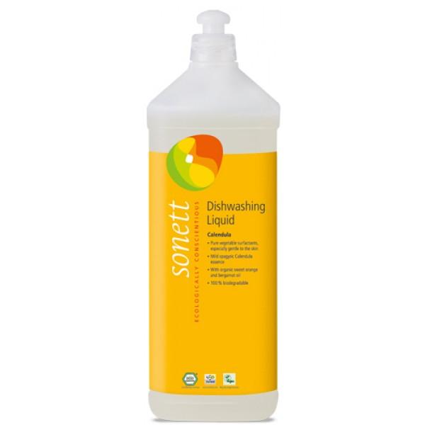 Detergent ecologic pentru spalat vase - galbenele (1 L)