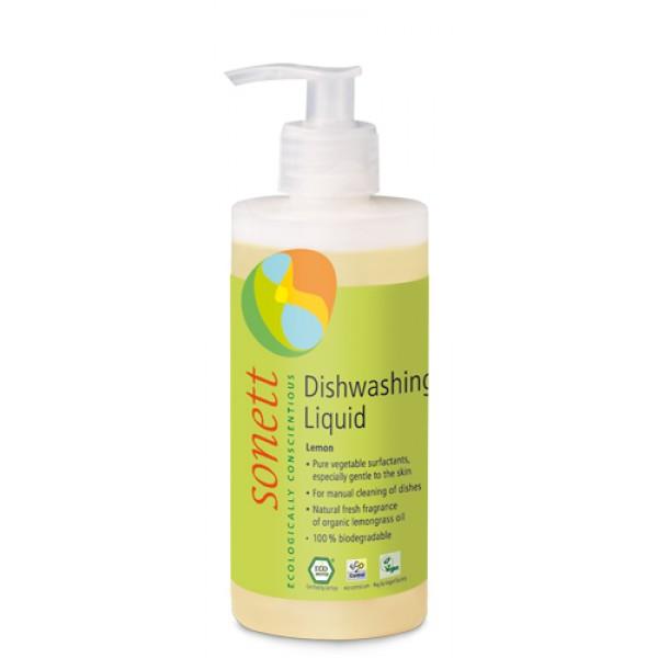 Detergent ecologic pentru spalat vase - lamaie (300ml)
