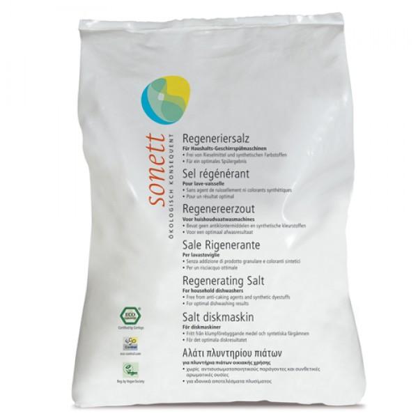 Sare regeneranta ecologica pentru masina de spalat vase (2 kg)