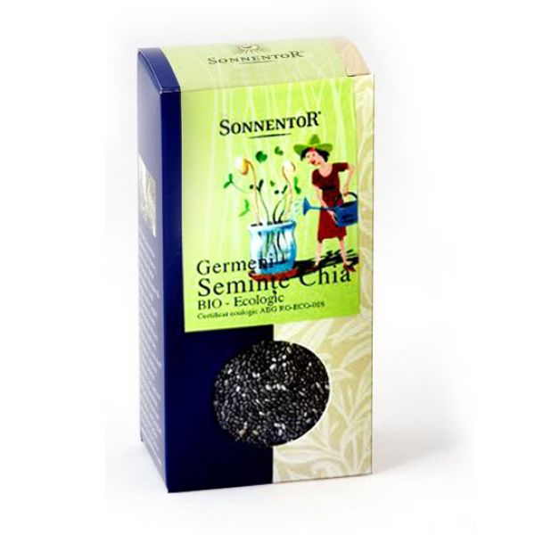 Seminte chia pentru germinat (120 grame), Sonnentor