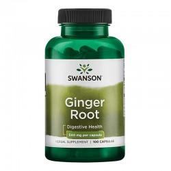 Ghimbir 540 mg (100 capsule), Swanson