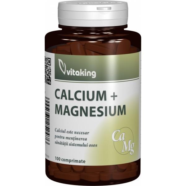 Calciu-Magneziu 500/250 (100 comprimate)