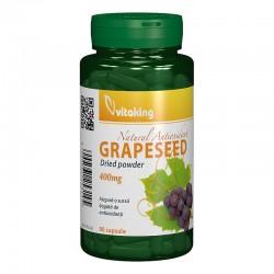 Capsule din samburi de struguri 400 mg (90 capsule), Vitaking