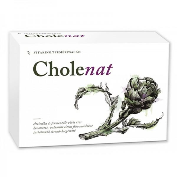 Cholenat anticolesterol complex forte (60 comprimate), Vitaking
