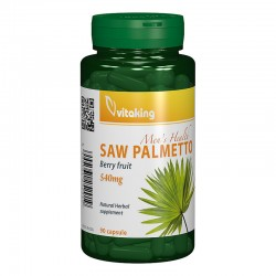 Extract de palmier pitic 540 mg (90 capsule), Vitaking