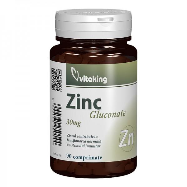 Gluconat de zinc 25 mg (90 comprimate)
