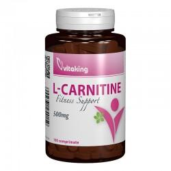 L-Carnitina 500 mg (100 comprimate), Vitaking