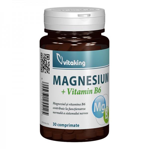 Magne B6 (30 comprimate), Vitaking
