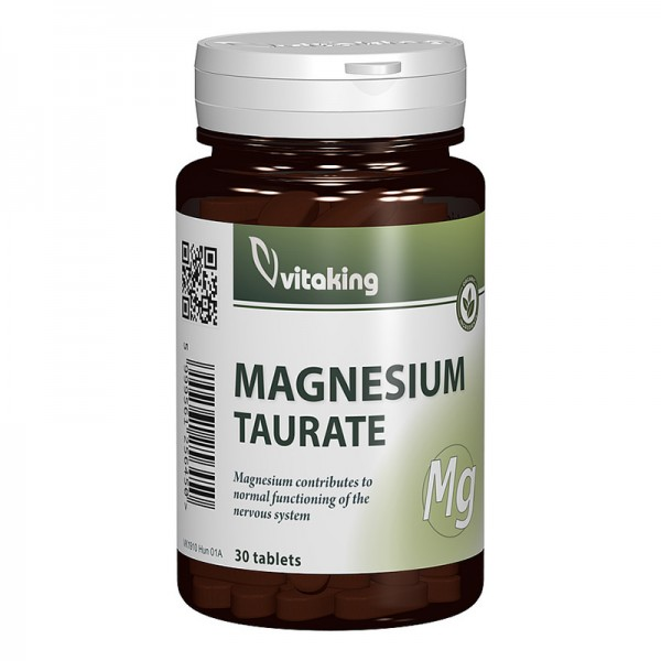 Taurat de magneziu (30 comprimate), Vitaking