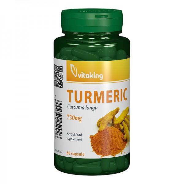 Turmeric 720mg Curcuma (60 capsule), Vitaking