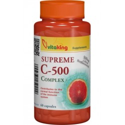 Vitamina Supreme C 500 mg (60 capsule)