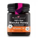 Miere de Manuka KFactor 16 RAW (250 grame), Wedderspoon