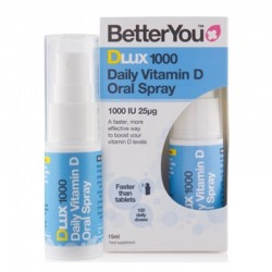 DLux 1000 Vitamin D Oral Spray (15ml), BetterYou