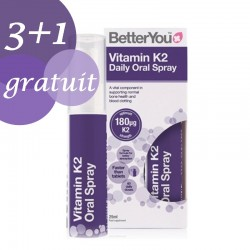 Promo 3+1 Gratuit Vitamin K2 Oral Spray (25ml), BetterYou