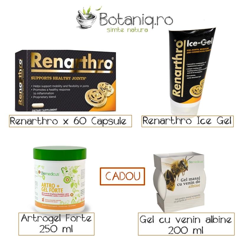 Fabelhaft Pachet Renarthro (60 capsule)+ Renarthro Ice gel (150 ml)- Cadou &GL_08